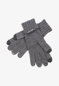 Urban Classics - Gloves - darkgrey melange - 0