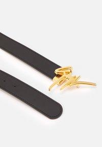 Giuseppe Zanotti - UNISEX - Belt - black/gold-coloured - 1