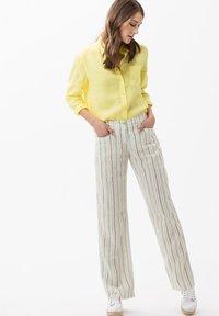 BRAX - VICTORIA - Button-down blouse - yellow - 1