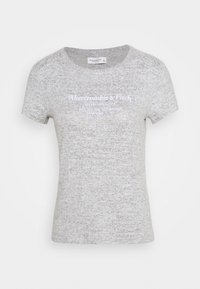 Abercrombie & Fitch - LONG LIFE LOGO - Print T-shirt - grey - 3