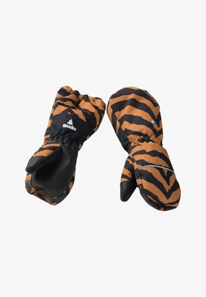 Fingerhandschuh - tiger brown