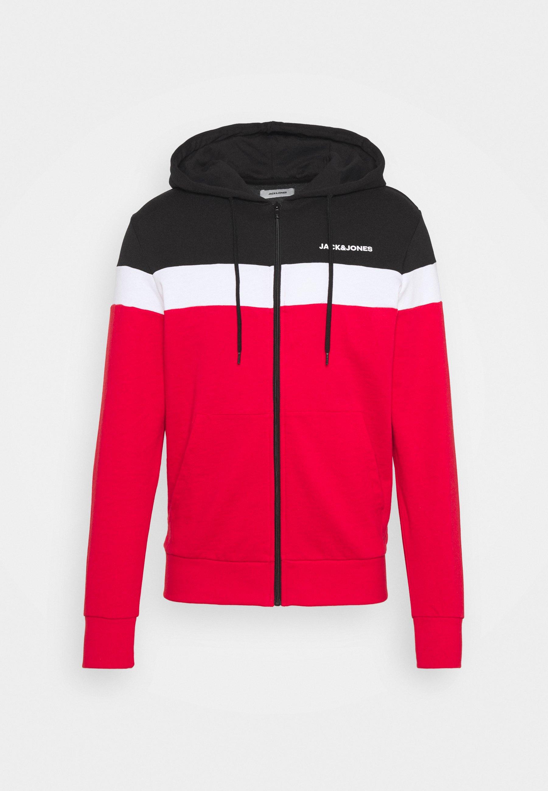 Men JJSHAKE ZIP HOOD - Zip-up sweatshirt