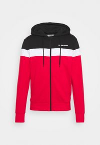 JJSHAKE ZIP HOOD - veste en sweat zippée - true red