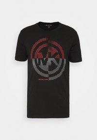 Michael Kors - TARGET TEE - T-shirt z nadrukiem - black - 4