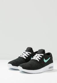 Nike SB - AIR MAX JANOSKI 2 - Trainers - black/mint - 2