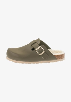 SW - Mules - olive