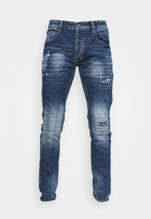 PARIS  - Slim fit jeans - mid blue wash
