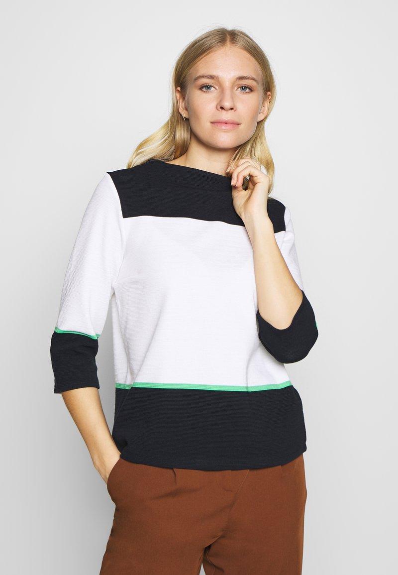 comma casual identity - Sweatshirt - white knit