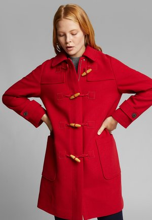 Short coat - dark red