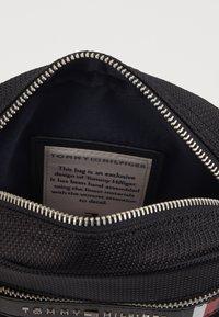 Tommy Hilfiger - ELEVATED NYLON MINI REPORTER - Across body bag - black - 3