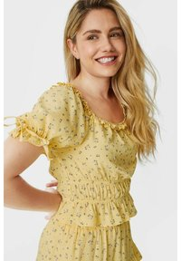 C&A - ARCHIVE - Blouse - light yellow - 2