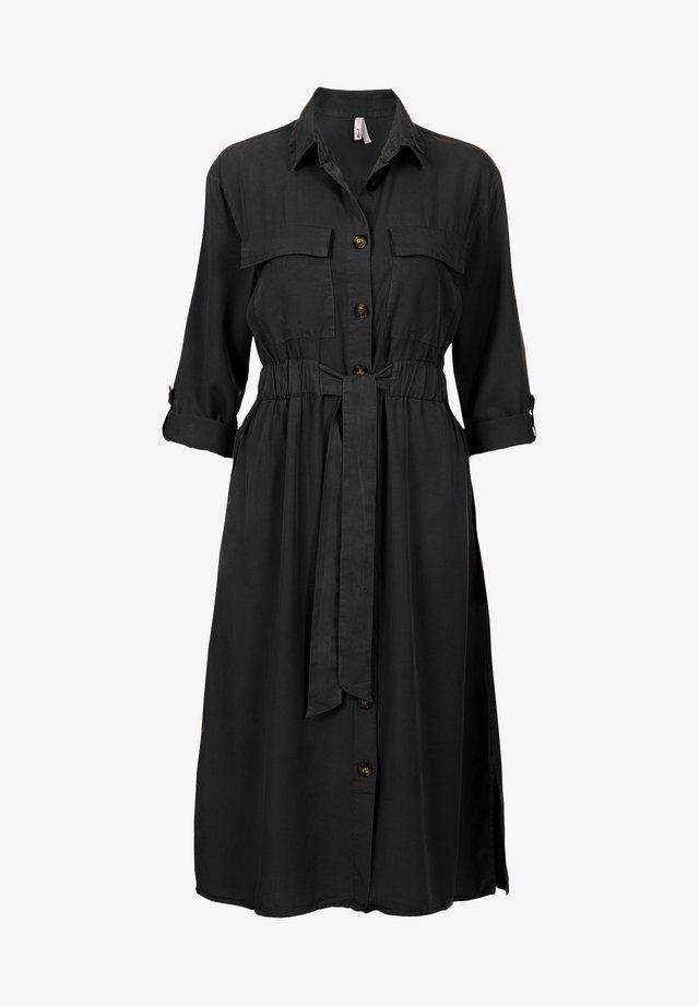 ETAM REGULIER LONG DRESS - Blousejurk - black