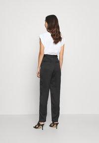 Monki - LAINEY TROUSERS - Trousers - black - 2