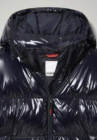 Napapijri - A-LOYLY LONG - Winter coat - blu marine - 3
