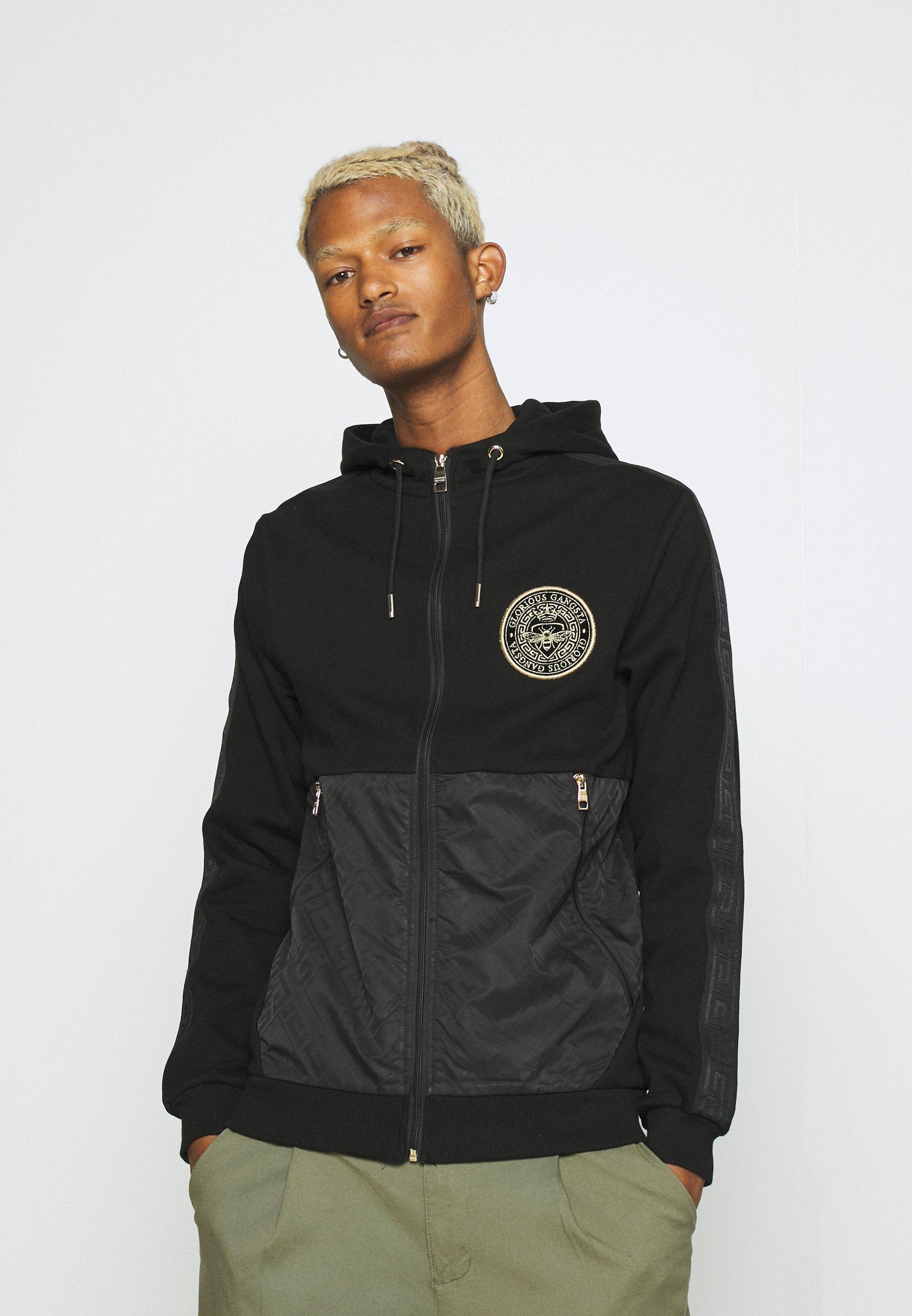 Men ABELLO ZIP THROUGH HOOD - Zip-up sweatshirt