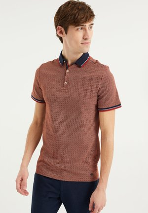Poloshirt - rust brown