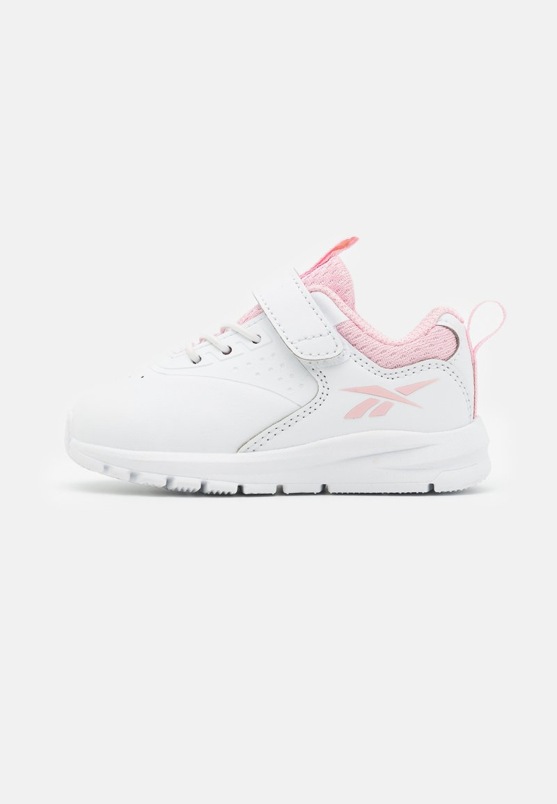Reebok - RUSH RUNNER 4.0  - Zapatillas de running neutras - footwear white/pink glow