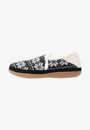 INDIA - Domácí obuv - black