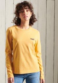 Superdry - Long sleeved top - ochre marl - 1