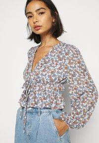 Fashion Union Petite - Blouse - blue - 3