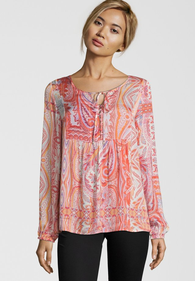 BLUSE MIT PAISLEY MUSTER - Blouse - multicolou