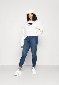 Dr.Denim Plus - MOXY - Jeans Skinny Fit - hurricane dark blue - 1