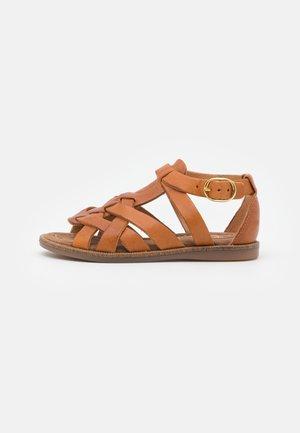 AMALIE - Sandals - cognac