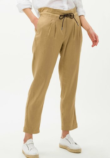 STYLE MILLA  - Trousers - sand