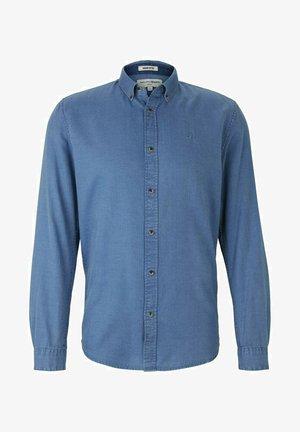 Shirt - blue tonal structure
