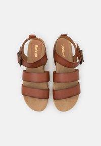 Barbour - GABBIE - Platform sandals - cognac - 4