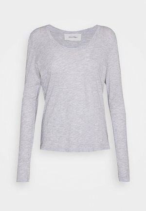 JACKSONVILLE ROUND NECK LONG SLEEVE - Top s dlouhým rukávem - polaire chine