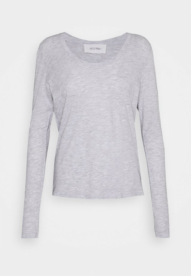 JACKSONVILLE ROUND NECK LONG SLEEVE - Langærmede T-shirts - polaire chine