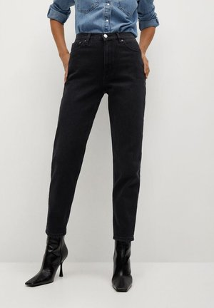 NEWMOM - Jeansy Slim Fit - black denim