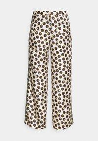 Tory Burch - REVA PAJAMA PANT - Trousers - off-white - 5