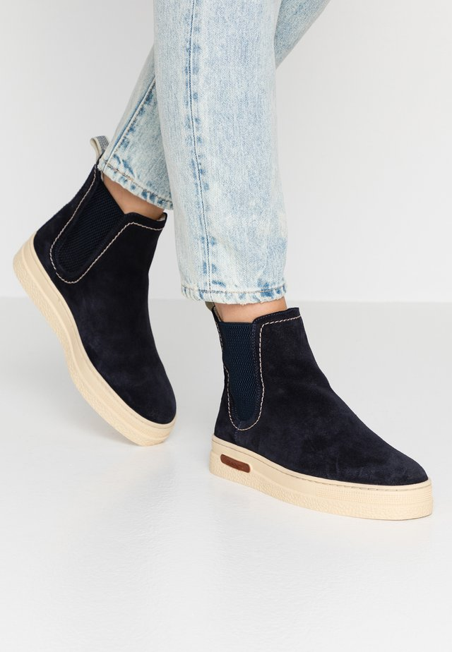MARIA - Classic ankle boots - dark blue