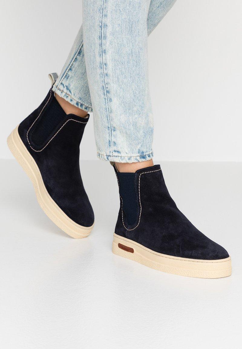 GANT - MARIA - Classic ankle boots - dark blue
