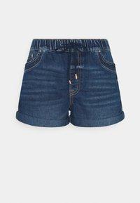 edc by Esprit - Denim shorts - blue dark wash - 0