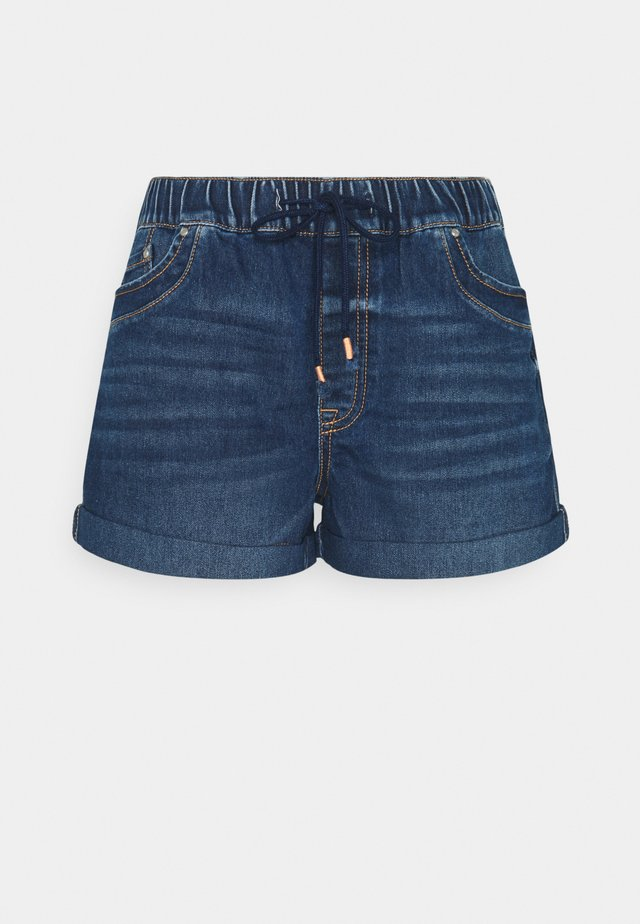 Shorts di jeans - blue dark wash