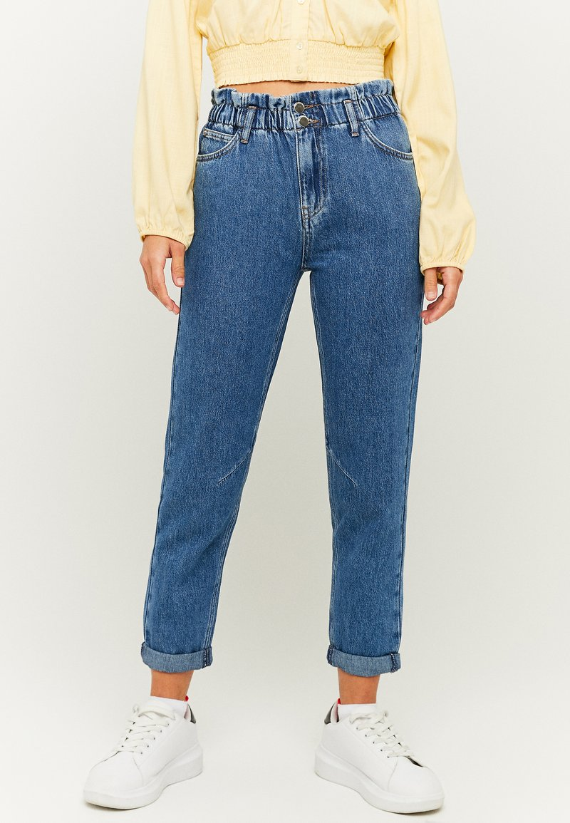 TALLY WEiJL - Jeans Tapered Fit - blu
