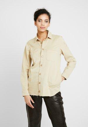 CUSS  - Button-down blouse - safari