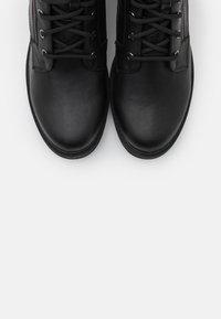 Fitters - PERUNSCHA - Snørestøvletter - black - 4
