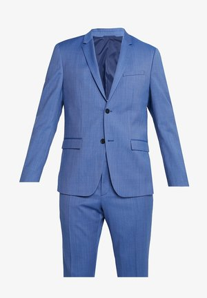 STRETCH MICRO FITTED SUIT - Kostuum - blue