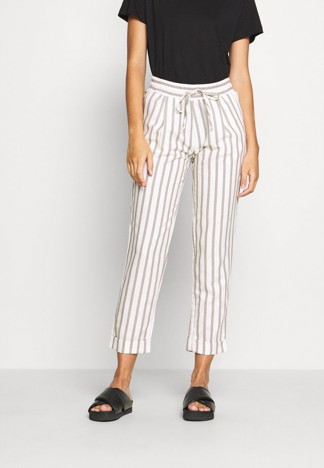 TROUSER - Kalhoty - offwhite multicolor