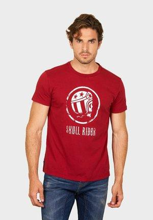 OLD SKULL - T-shirt print - red