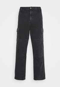 KEYTO PANT DEARBORN - Cargo trousers - black