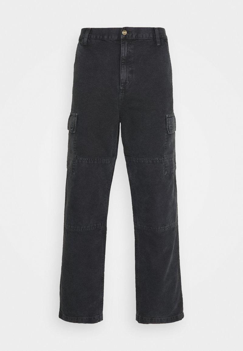 Carhartt WIP - KEYTO PANT DEARBORN - Cargo trousers - black