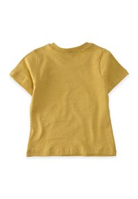 Cigit - HELICOPTER EMBROIDERED  - Print T-shirt - mustard yellow - 1