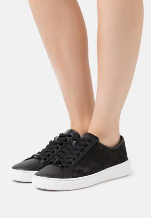 OLIVIA LACE UP - Baskets basses - black