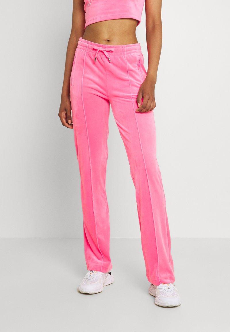 Juicy Couture - TINA TRACK  - Trainingsbroek - fluro pink