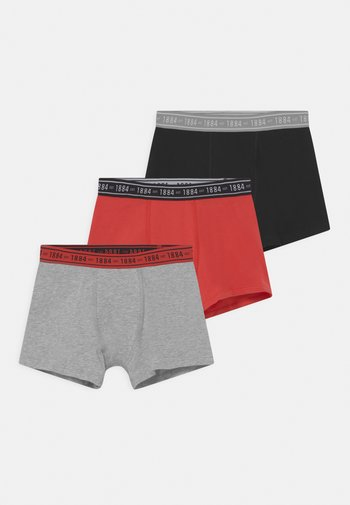 3 PACK - Pants - red